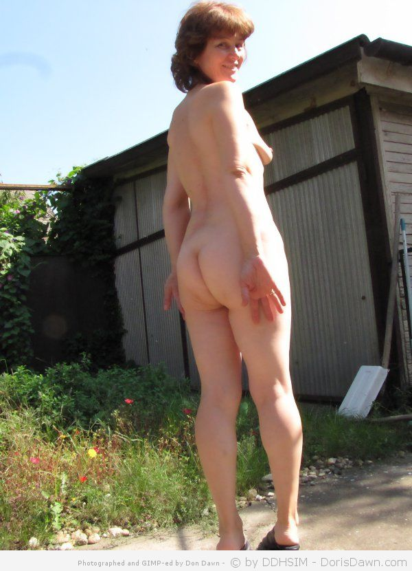 That interfere, mature nude garden