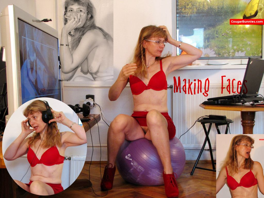 This morning, freshly published on CougarBunnies.com - 46 red hot geeky pics.