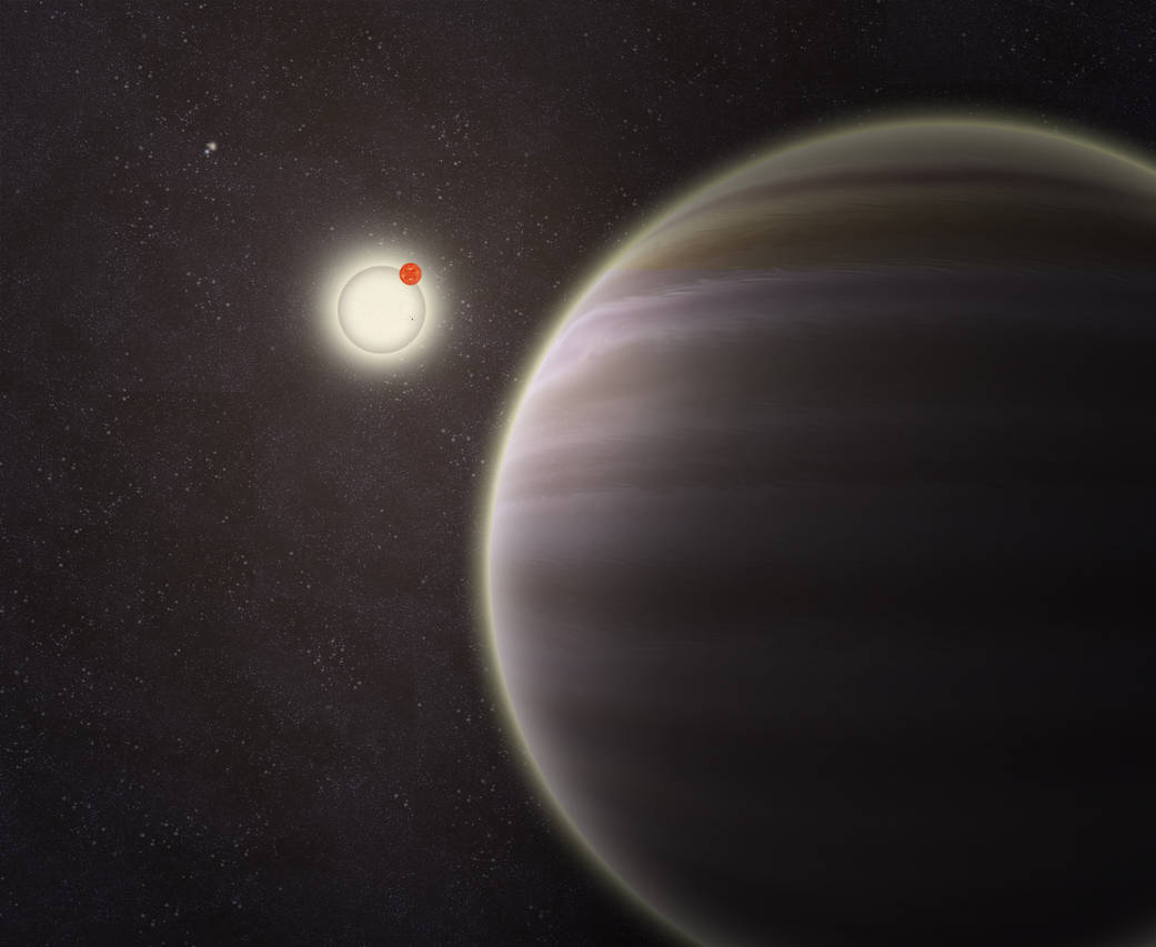 Image Credit: Haven Giguere/Yale - http://www.nasa.gov/content/kepler-64b-four-star-planet