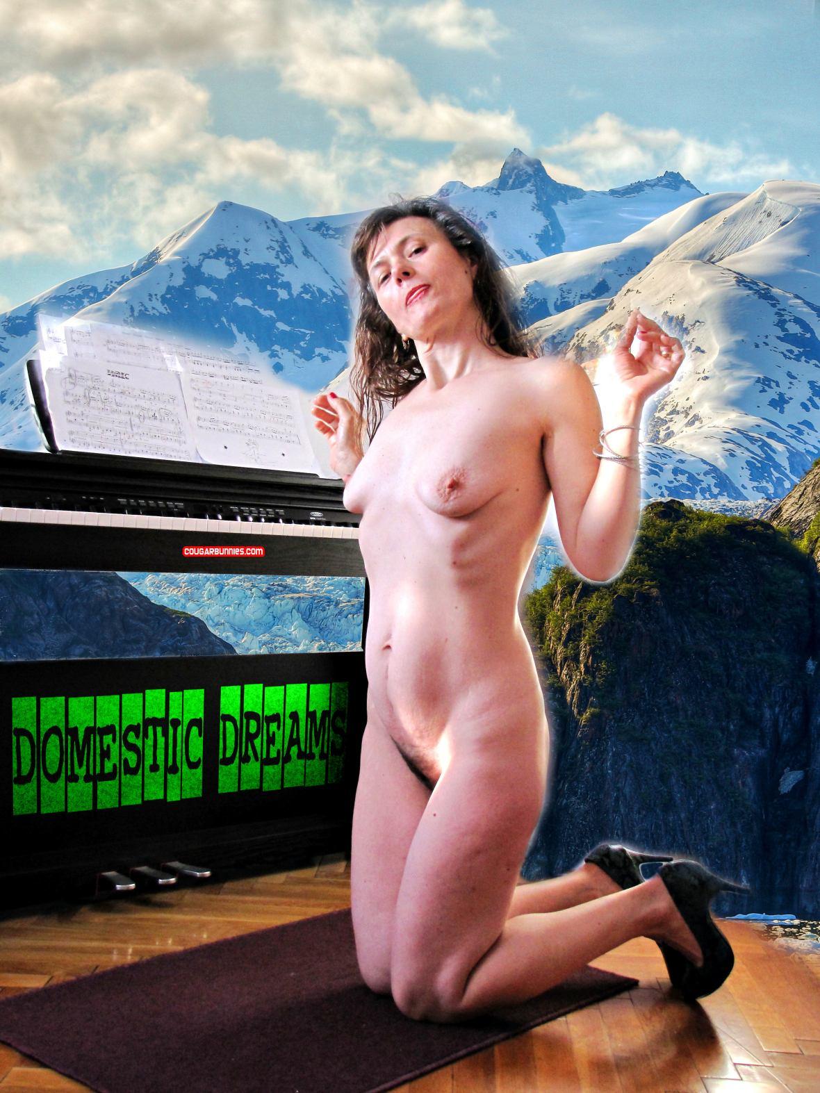 Domestic dreams with Doris Dawn - on CougarBunnies.com