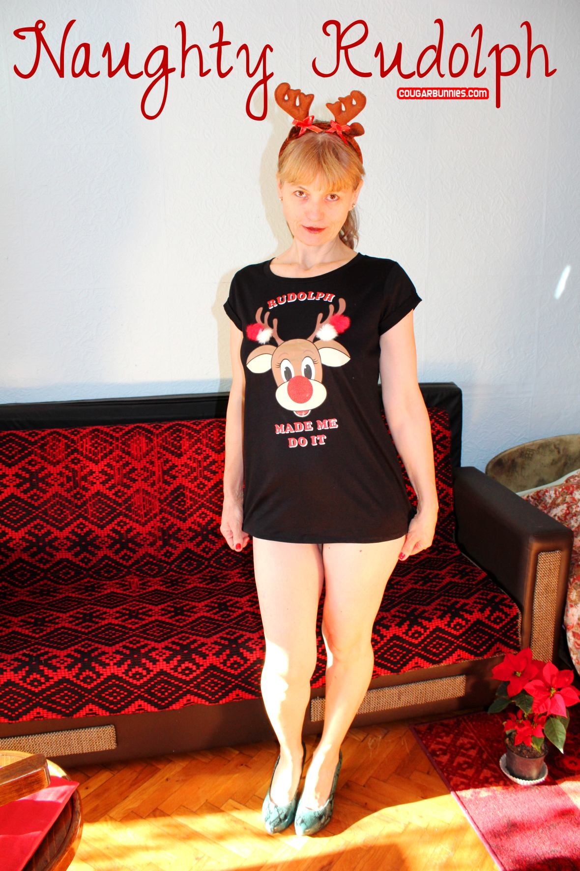 Naughty Rudolph - this month on Southern Charms and CougarBunnies.com