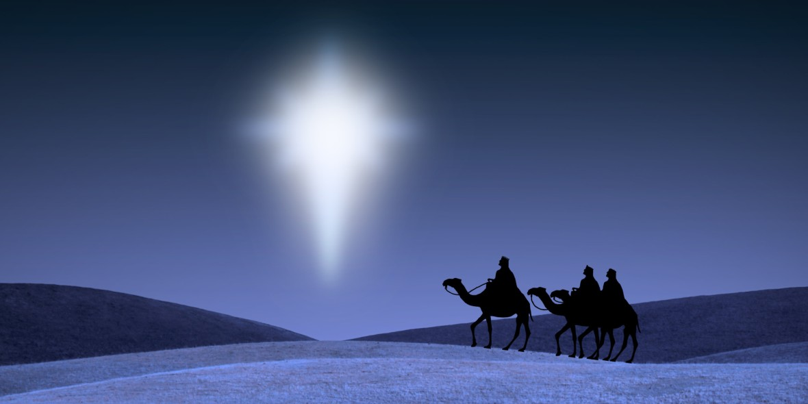 Three Kings Behold the Star of Bethlehem